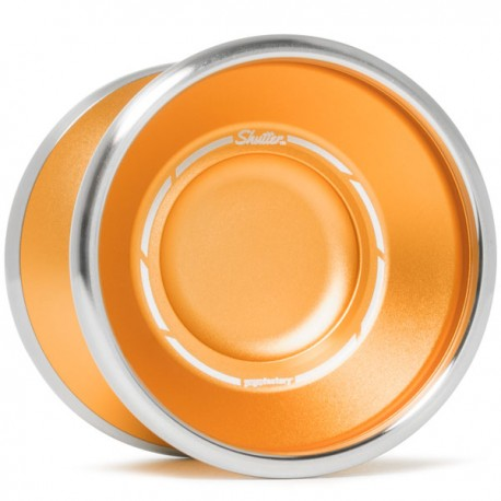 YoYoFactory Bi-Metal Shutter Orange / Silver Rims