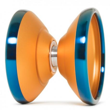 YoYoFactory Bi-Metal Shutter Orange / Blue Rims