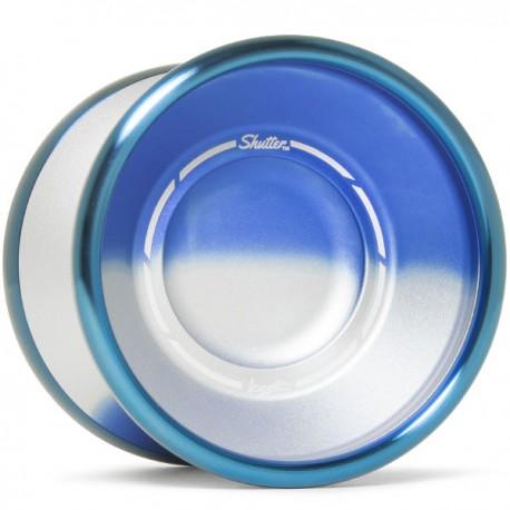 YoYoFactory Bi-Metal Shutter lue / Silver Fade / Blue Rims