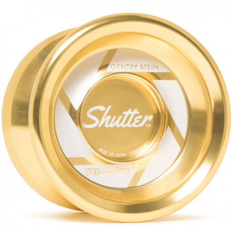 YoYoFactory Shutter Gold