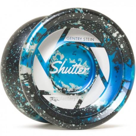 YoYoFactory Shutter Black / Aqua / Silver