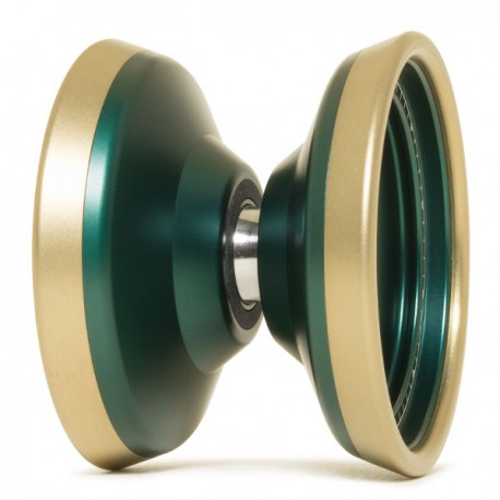 Mowl Surveillance Dark Green / Matt Gold Rim