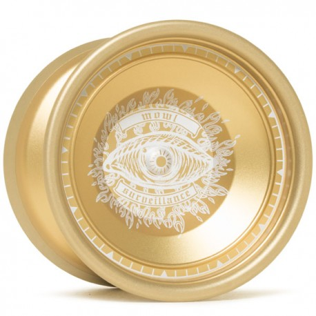 Mowl Surveillance Gold / Matt Gold Rim