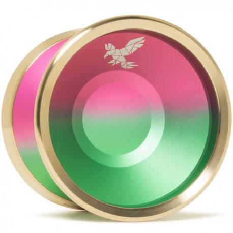 Yoyofriends Peregrine Green / Purple Fade / Gold Rims
