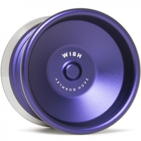 CLYW Wish Purple / Silver Rings