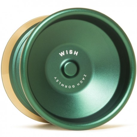 CLYW Wish Green / Gold Rings