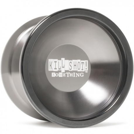 sOMEThING Kill Shot Gray / Black Ring