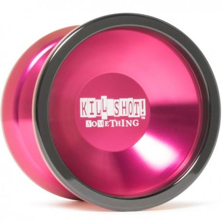 sOMEThING Kill Shot Pink / Black Ring