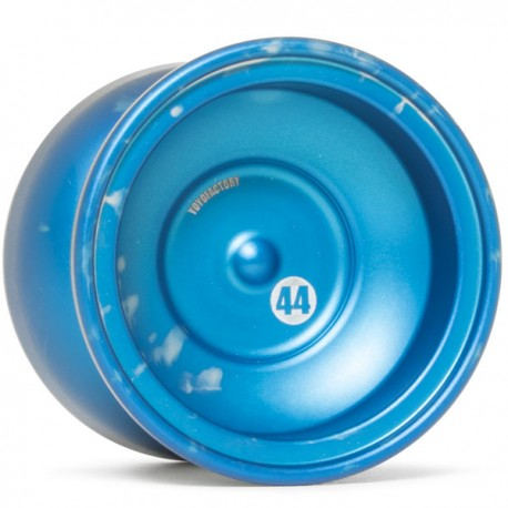 YoYoFactory 44 Blue / Silver Acid Wash