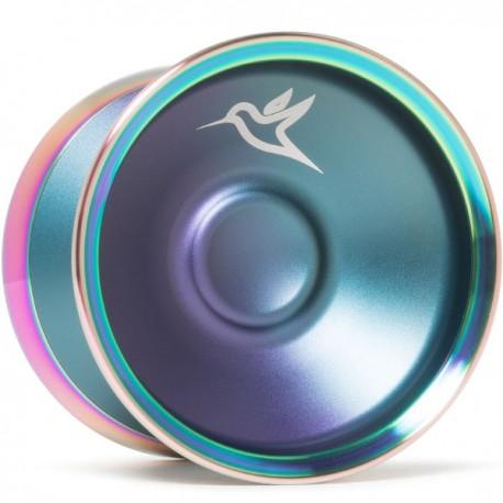 Yoyofriends Hummingbird Purple / Teal Fade / Rainbow Rims