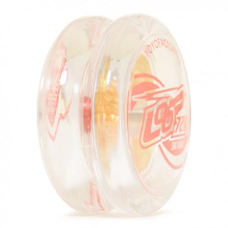 YoYoFactory Loop 720 Clear w/ Gold Foil