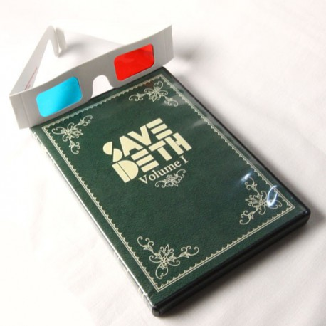Save Deth. Volumen I caja y gafas