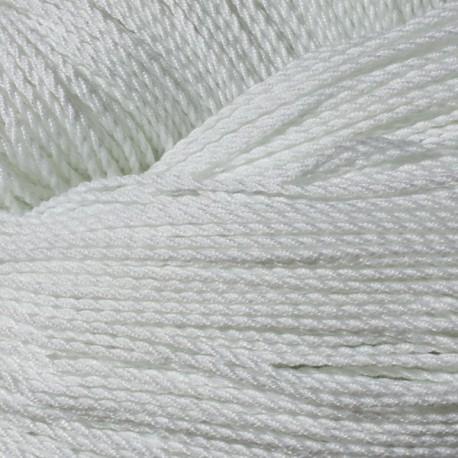100 Cuerdas Tipo 6. 100% Poliéster. Blanco