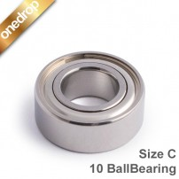 One Drop 10 Ball Bearing Size C