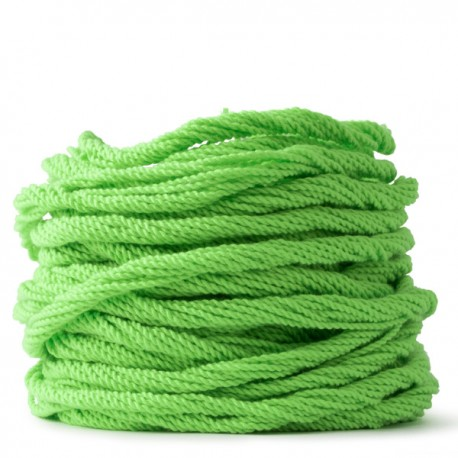 100 Counts Kitty String. NORMAL. Lime Green
