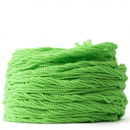 100 Counts Kitty String. FAT. Lime Green