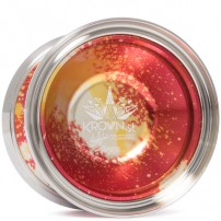 C3yoyodesign Krown ST Red Gold-Silver Acid Wash
