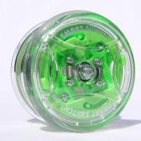 Yomega Gamma Brain verde perspectiva